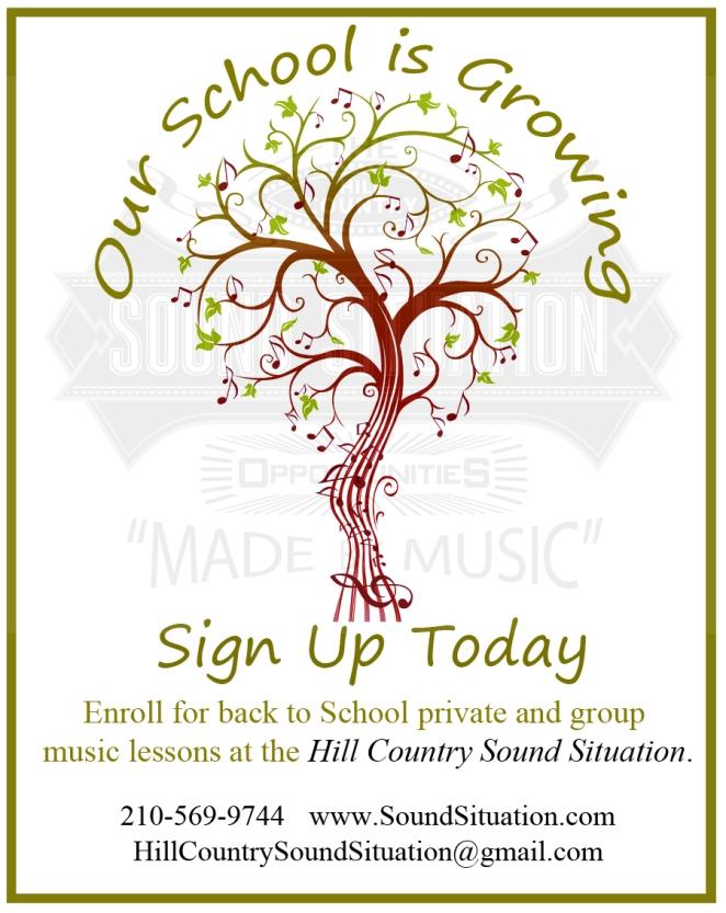 September Sign up Poster
