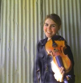Jeanette's Violin Pic